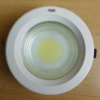 厂家直销LED筒灯 COB 8寸 筒灯 LED天花灯 25W