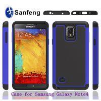 SAMSUNG galaxy note4三合一球纹保护套 note4足球纹防摔手机壳