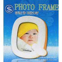 迷你Q字存储钱罐五寸照片相框儿童塑料创意影楼相架批发地摊货源
