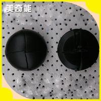 大量批发 优质皮革手工编织钮扣 精品有脚手工编织钮扣mqn10016