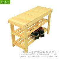 鞋架凳/幼儿园/早教用品/组合架/儿童储物架/实木置物架