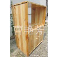 实木餐边柜/储物微波炉柜架/碗橱柜/田园厨房置物架家具批发M053