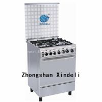 Free standing gas stove range oven with Stainless steel