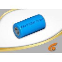 ER17335M功率型锂亚电池 ER17335M动力型锂亚电池 2/3A 1500MAH