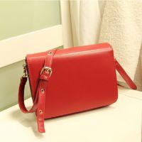 包包2014新款潮时尚欧美复古女士办公室红色单肩斜挎包女包小挎包