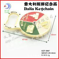 意大利旅游纪念品 高档金属冰箱贴 ITALIA 礼品KCIT-0067