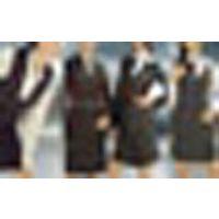 上海女马夹三件套装,女式职业装,职业套装,订做女职业套装,行政服装