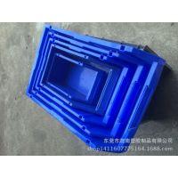 生产 组合式五金电子仓库斜口塑胶元件盒 螺丝盒 背挂中物料盒