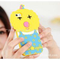 叫兽苹果iphone5硅胶手机壳 韩国全智贤来自星星的你硅胶手机套
