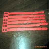 现模现货高质量pvc行李牌绳子 透明塑胶行李牌带子 硅胶带子