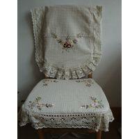 桌椅套批发 厂家供应处理 刺绣纯棉椅子套定制