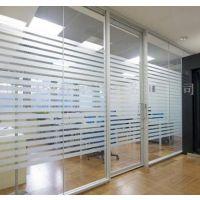 扬州玻璃隔断厂家、办公室钢化玻璃隔断定做安装13773525800