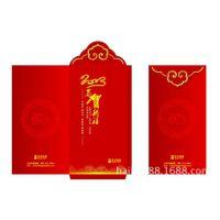 厂家直销高档双色金大号千元福字红包袋 利是封 新年红包