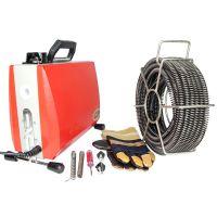 供应大力管道疏通机 型号GQ-100 专业下水道疏通机 大力疏通机 弹簧疏通器 电动疏通机