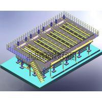 上海拉谷 1200m3/h大型斜管沉淀器