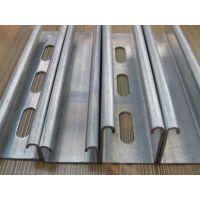 供应甘肃冷弯C型钢和兰州镀锌C型钢价格
