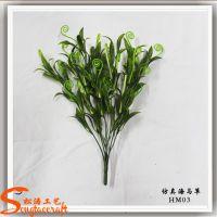 厂家批发仿真植物高档 海马草花束 办公装饰 仿真花欧式