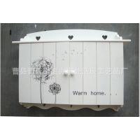 2014新款创意家居装饰品 时尚简约电表箱 田园风木制电表箱