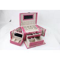 厂家批发珠宝盒 饰品盒包装盒 塑胶手链盒 植绒首饰盒塑料 手镯盒