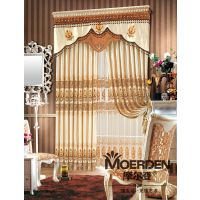 隔音卧室窗帘定做 欧式客厅/酒店窗帘定制定做 全遮光