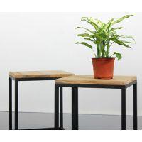 仿古小桌子 美式乡村 休闲桌椅 实木板铁艺茶几 客厅桌子