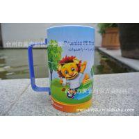 PY36-20  礼品杯 塑料卡通杯 塑料旋转杯 拼图杯 迪士尼 旋转杯