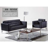 供应广东广州厂家直销组合办公沙发接待沙发真皮办公沙发