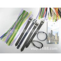 厂家大量供应:彩色透明PVC塑料挂绳,吊绳.行李牌带子颜色可定制