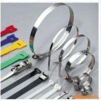 专业生产304/316不锈钢扎带 不锈钢自锁式束线带 8X300
