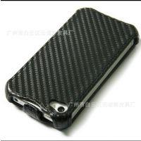 热定型 iphone4 编织纹/席纹上下翻手机保护套 提供各型号手机套