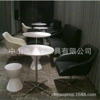 潮州哪家咖啡厅桌椅好?上品家具厂家直销[SP-CS212]时尚经典欧式咖啡厅商务接待家具