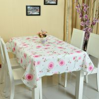 PVC免洗桌布 防水桌布 防油台布 免洗餐桌布塑料茶几桌垫餐垫