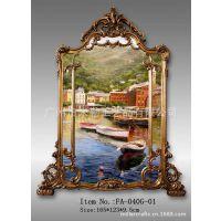 客厅 餐厅 仿古欧式画框相框镜框配油画 手绘油画 装饰画 批发