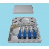 供应塑料 4口光缆终端盒【PC阻燃>光纤终端盒】-价格