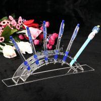 多展位亚克力\有机玻璃\压克力笔架 展示架 展示器材 眉笔架货架