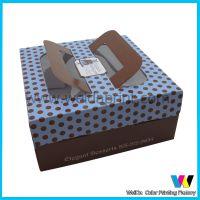 厂家专业定做手提蛋糕盒