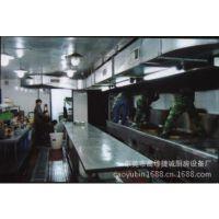 专业生产不锈钢整体厨房厨柜 高档饭店餐厅设备 不锈钢厨具设备