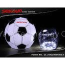 0.6W 220mAh 3.5A Football Gas Filled LED Solar Lantern 4000 mcd light source