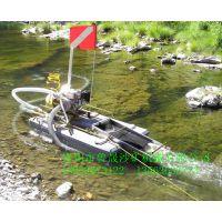 小型河道淘金设备淘金船,小型淘金船,迷你型淘金船