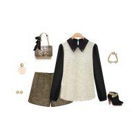 韩版衫长袖夏装女款打底衫宽松纯色上衣蕾丝衫 雪纺衫原创设计