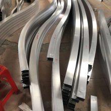 供应铝合金吊顶天花别名铝方通石纹铝方管木纹铝吊管生产厂家