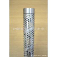 供应不锈钢冲孔管 冲孔板 滤芯骨架 螺旋焊冲孔管