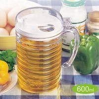 振兴600ml油壶YH509/塑料油壶/家用防漏油壶/定量油壶/家具用品