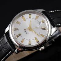 简约之美 时尚优雅 康卡斯腕表  1.645.4.75.4 瑞士机械男士手表