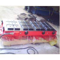 厂家直销鑫运强力磁盘 CNC加工中心永磁吸盘 雕刻机 电脑锣方格磁台
