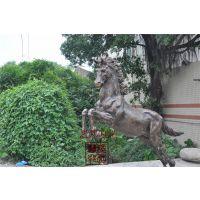 3m 仿真玻璃钢马动物雕塑仿古铜玻璃钢雕塑艺邦制造景观工程