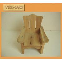 日式ZAKKA杂货 迷你小家具拍照背景 小道具 原木娃娃椅子定做