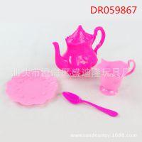 功能仿真卡通餐具茶具玩具 早教儿童过家家益智玩具 咖啡具套装