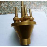 厂家批发全铜中心直上喷头 涌泉喷头 喷泉喷头 景观喷头
