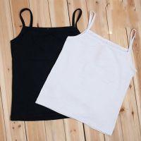 供应2014夏季超柔纯棉万能打底吊带打底衫小背心 黑色 白色